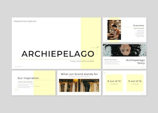Thumbnail for Archiepelago - Powerpoint/Google Slide/Keynote