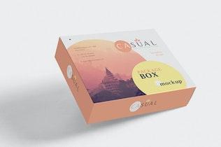 Thumbnail for Box Packaging Mockups