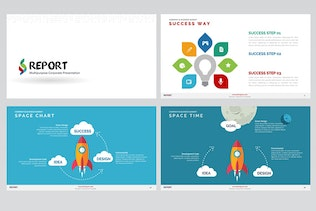 Thumbnail for Report Powerpoint Template