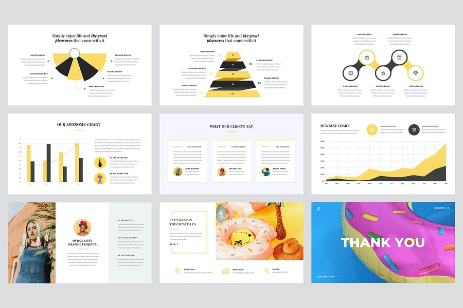 Vagabond - Creative & Business Keynote Template - product preview 4