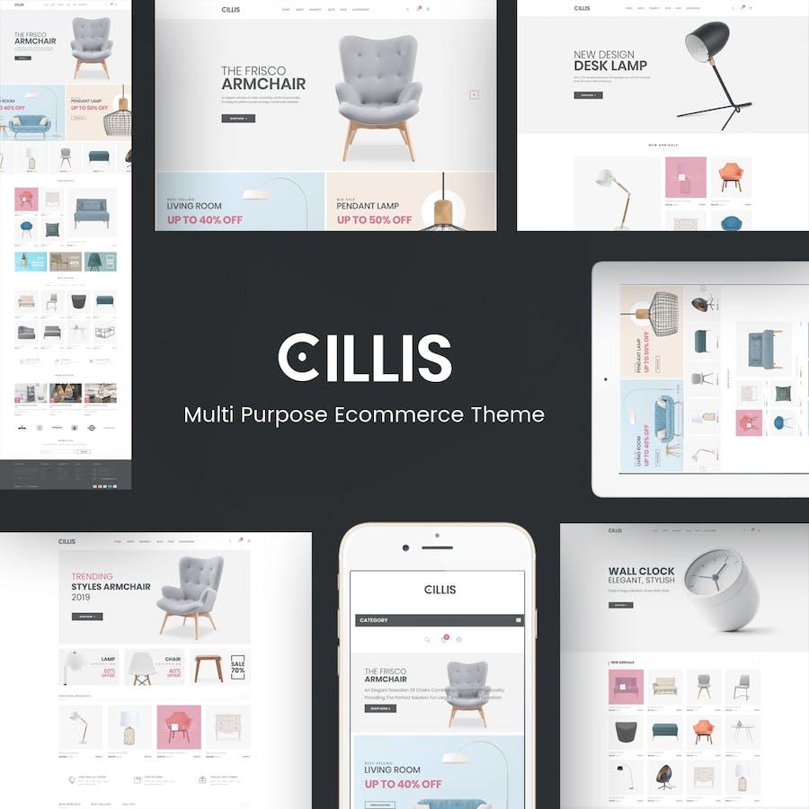 Cillis - Furniture & Deco Prestashop Theme - product preview 1
