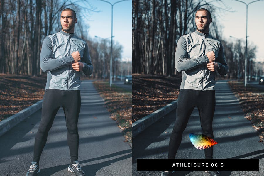 40 Fitness Lightroom Presets and LUTs - product preview 2