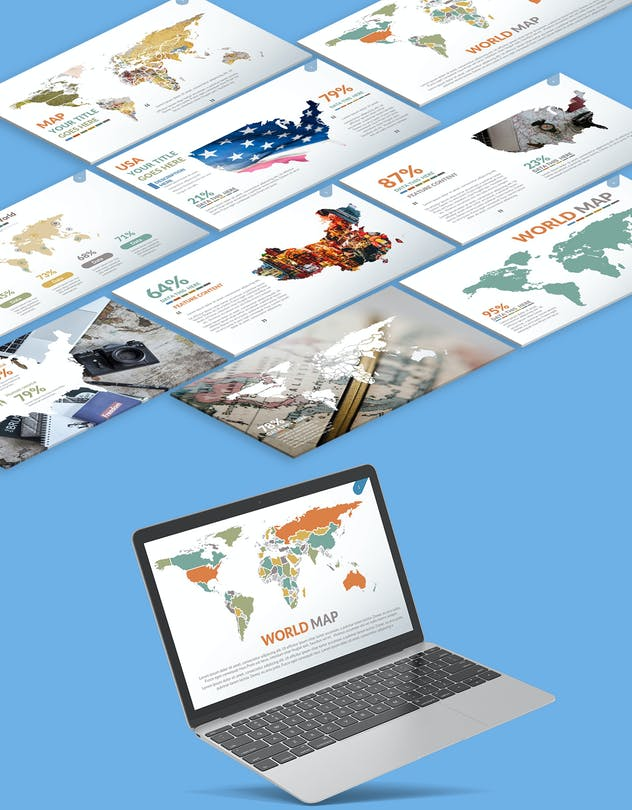 Map Powerpoint Presentation