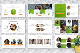 Daywiel - Food & Beverage Googleslide Templates