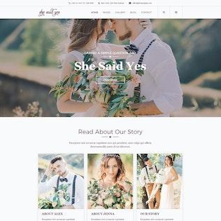 Thumbnail for SheSaidYes - Engagement & Wedding