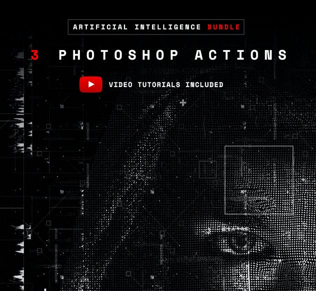 Artificial Intelligence Series Photoshop Actions - product preview 7