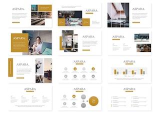 Thumbnail for Aspara - Powerpoint Template