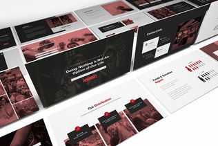 Thumbnail for Charity Powerpoint Presentation Template