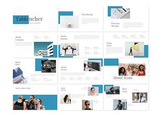 Tablencher - Google Slide Template