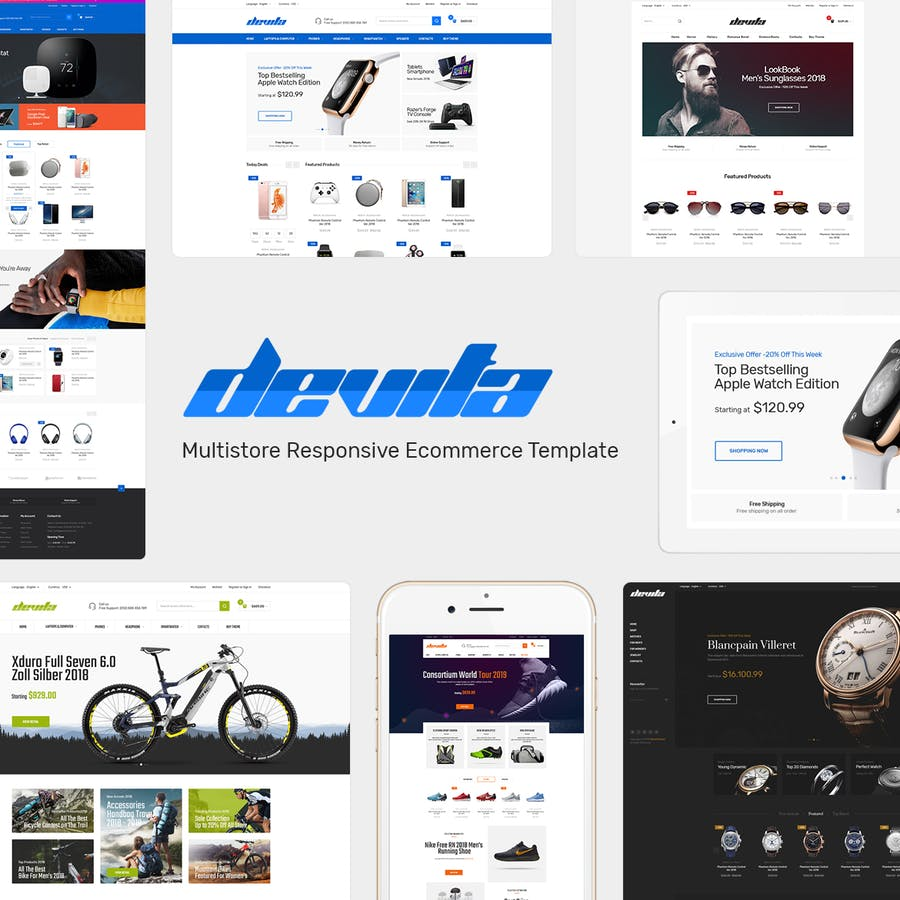 Devita - Responsive PrestaShop Theme - product preview 1