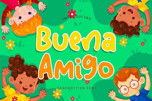 Buena Amigo Handwritten Font - product preview 1