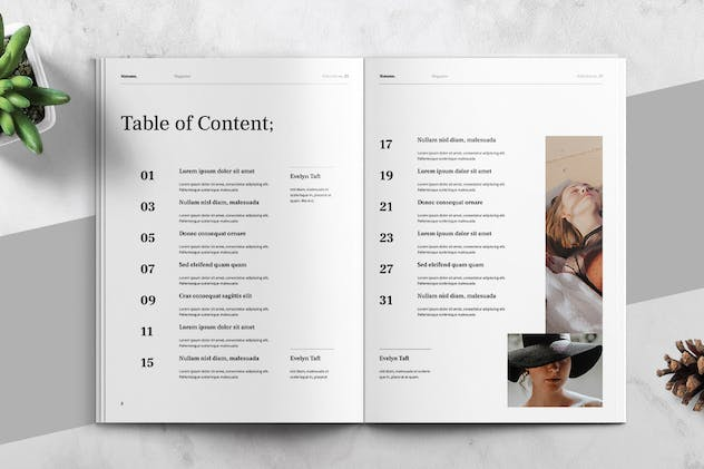 MATAMU - Clean and Minimalist Magazine Template - product preview 1