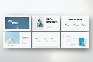 Thumbnail for ENCORE - Minimal Business Powerpoint