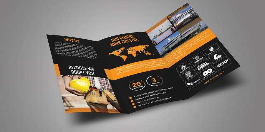 Trifold Brochure - product preview 3