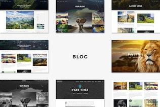 Thumbnail for Engage - Creative Multipurpose HTML Theme