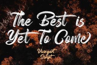Thumbnail for Vinegart - Handwritten Font