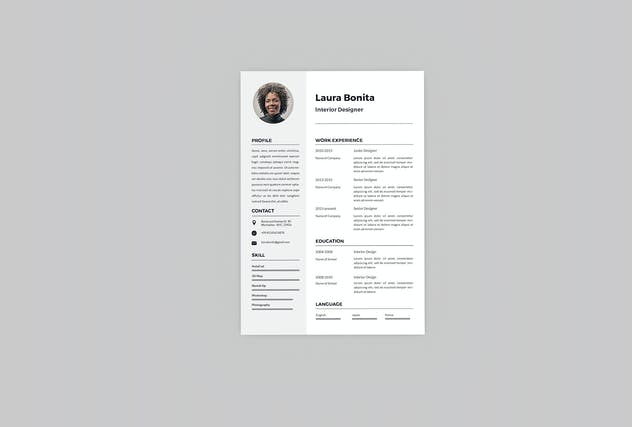Shiny Resume Designer - product preview 1