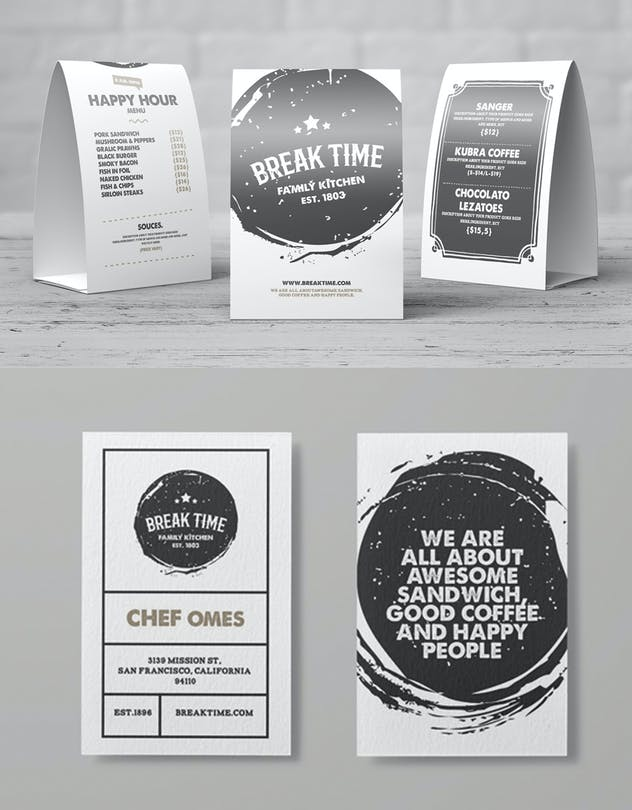 Food Menu Template - product preview 1