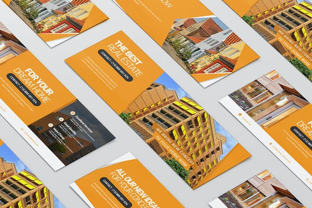 The Real Estate | Facebook Cover - product preview 1