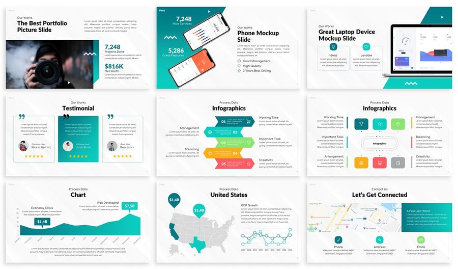 Henz - Agency Keynote Template - product preview 3