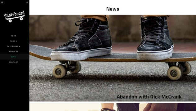 Skate board - Fullscreen Sports Shopify Theme - product preview 10