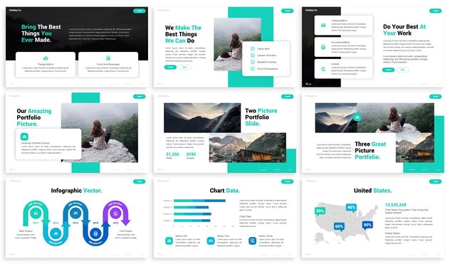 Discover - Advertising Powerpoint Template - product preview 5