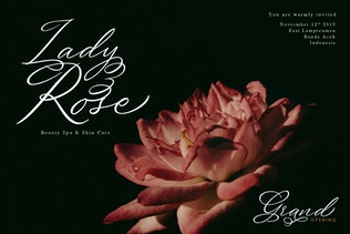 Keeshy Modern Calligrapy Typeface