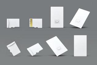 Thumbnail for Micro Memory Card Molck-Up