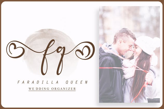 Fradilla - Modern Script Typeface - product preview 2