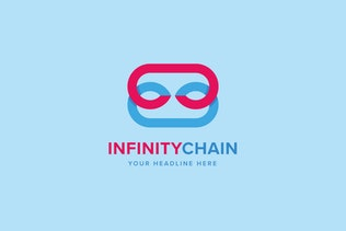 Thumbnail for Infinity Chain Logo Template
