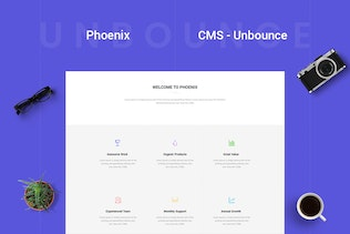 Thumbnail for Phoenix - CMS Multi-Purpose Unbounce Template
