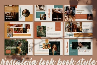 Thumbnail for Nostalgia Google Slide Template
