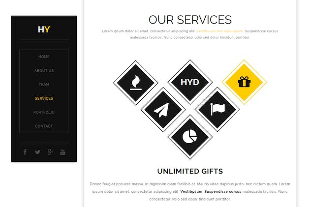 Hy - Creative Muse Template - product preview 3