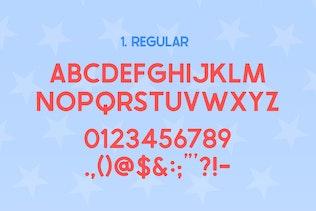 Miniatura para La familia tipográfica de Estados Unidos
