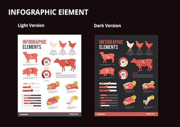 Infographic Examples for Designer V.41 - product preview 2