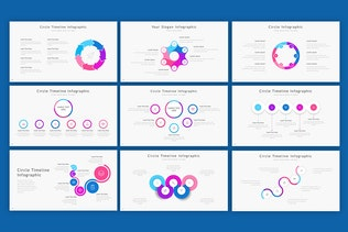 Thumbnail for Circle - Infographic Google Slides Template