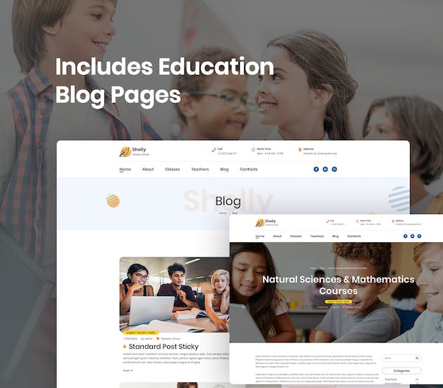 School Website Template - product preview 6