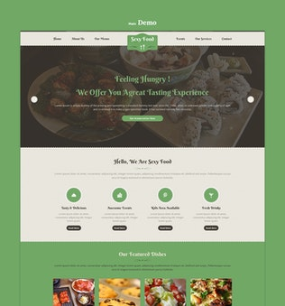 Thumbnail for Sexy Food - Food & Restaurant PSD Template