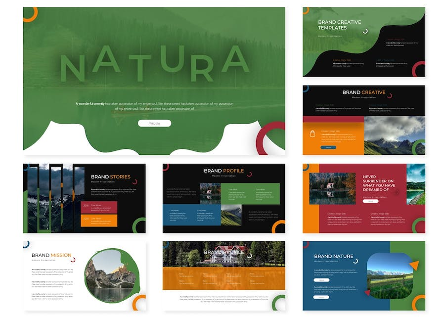 Natura | Powerpoint Template - product preview 1