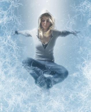 Миниатюра для Замороженные Photoshop действие CS3+