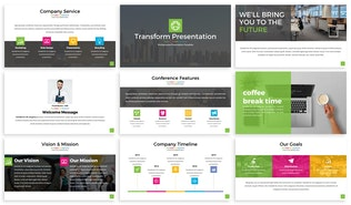 Thumbnail for Transform - Powerpoint Presentation Template