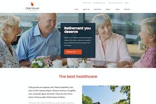Thumbnail for Oak House - Senior Care, Retirement WP Theme