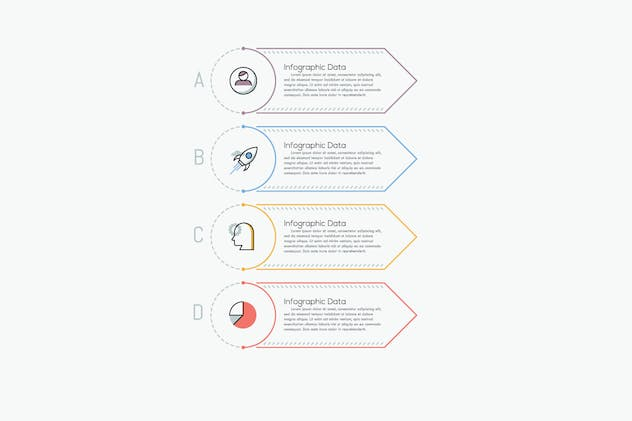 Ultimate Thin Line Infographic - product preview 3