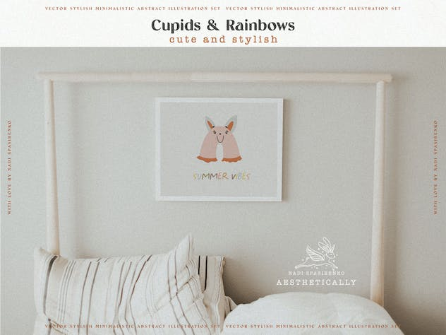 Cupids & Cute Rainbows - product preview 8