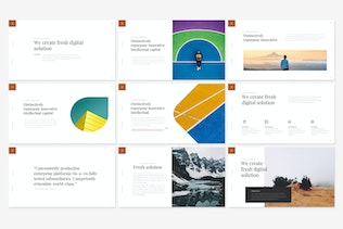 Thumbnail for Clean Powerpoint Presentation