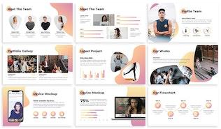Thumbnail for Modelo - Agency Keynote Template