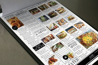 Thumbnail for Big & Modern Rustic Menu