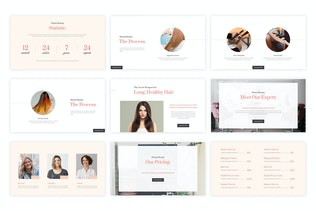 Thumbnail for Henni - Beauty Salon Google Slides Template