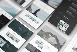 Thumbnail for Perspective Web Mockup 16