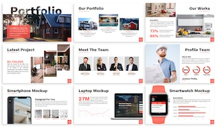 Thumbnail for Luxury - Property Business Powerpoint Template